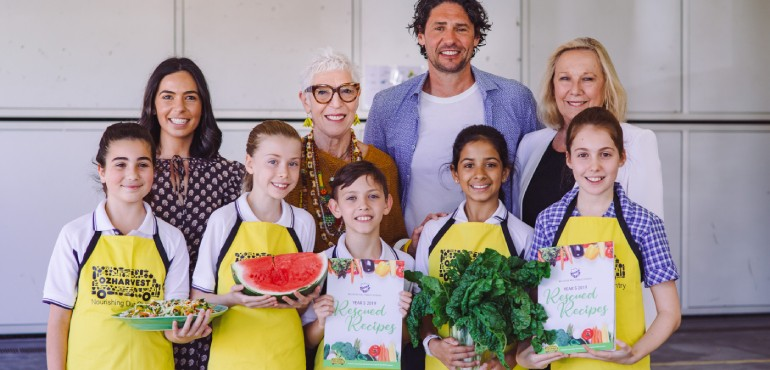OzHarvest Cookbook Launch